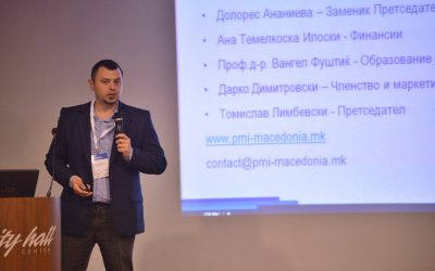 PMI Macedonia Chapter sponsor of the first national PM&IT Conference